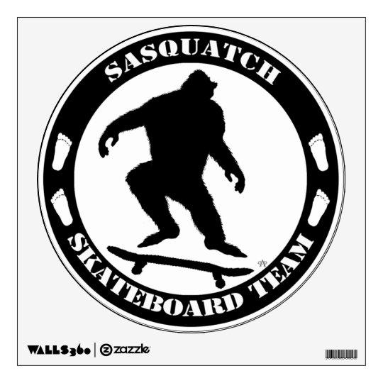 Sasquatch Skateboard Team Large Sticker