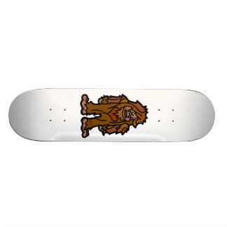 sasquatch skatin'. skateboard