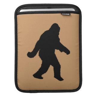 Sasquatch Squatchin' Silhouette iPad Sleeves