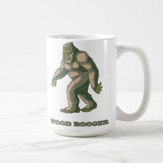 Sasquatch: Taza de café de madera del Booger