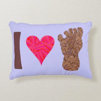 Fun Decorative Throw Pillows : Finding Bigfoot Pillows - Decorative & Throw Pillows Zazzle