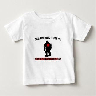 Sasquatch Valentines Day Tee Shirt
