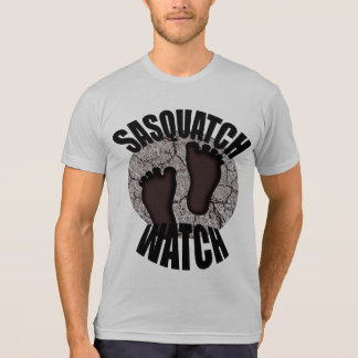 Sasquatch Watch Brown American Apparel T Shirt