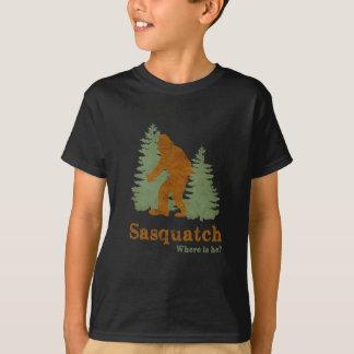 Sasquatch... Where is he? T-Shirt