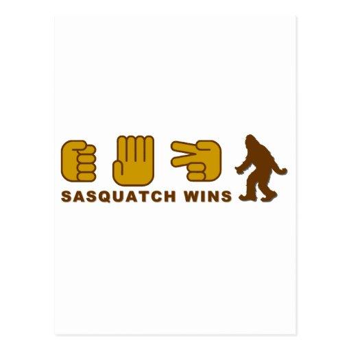 Sasquatch Wins Post Card