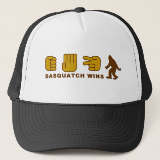 Sasquatch Wins Trucker Hat