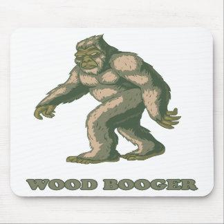 Sasquatch: Wood Booger Mouse Pad