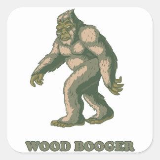 Sasquatch: Wood Booger Sticker