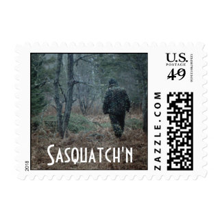 Sasquatch'n Fun Travel Trip Vacation Stamps Stamp