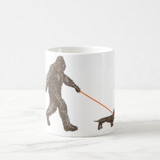 Sasquatch's Best Friend Classic White Coffee Mug
