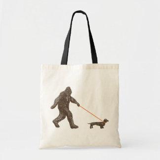Sasquatch's Best Friend Tote Bag