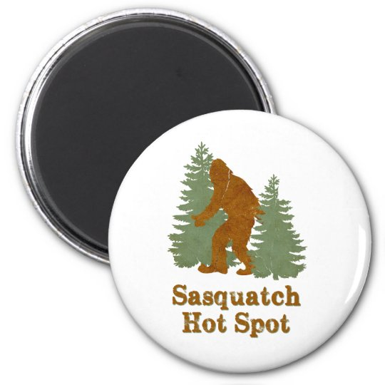 Sasqutch Hot Spot Magnet