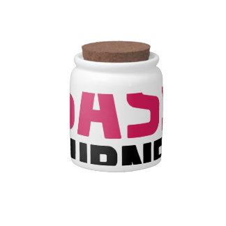 Sass Burns Calories Candy Jars
