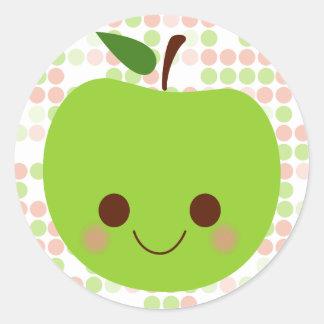 Sass de Apple Pegatina