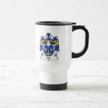 Sass Family Crest Mug