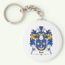 Sass Family Crest Keychain