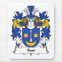 Sass Family Crest Mousepad