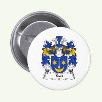 Sass Family Crest Button