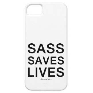 Sass Saves Lives Phone Case iPhone 5/5S Cover