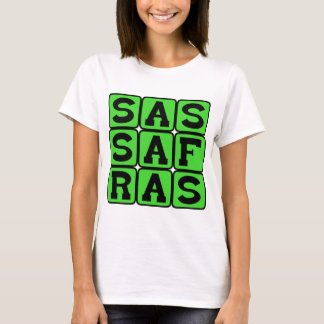 Sassafras, Deciduous Tree T-Shirt