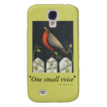 """sassafras, """"One small voice"""", author Sally Coup... Galaxy S4 Cover"""