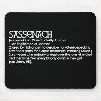 Sassenach Mouse Pad