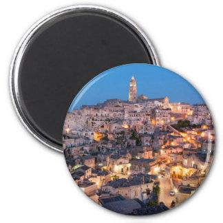 Sassi di Matera, Italy 2 Inch Round Magnet