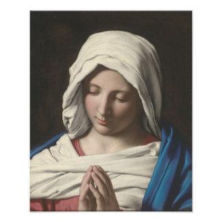 Sassoferrato - Madonna in prayer Photo Art