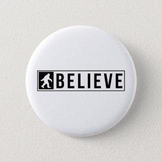Sassquatch Believe Button