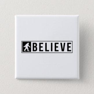 Sassquatch Believe Pinback Button