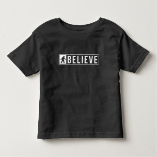 Sassquatch Believe Toddler T-shirt