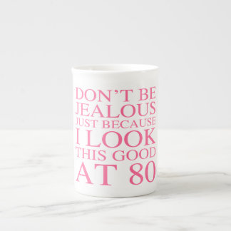 Sassy 80th Birthday For Women Tea Cup