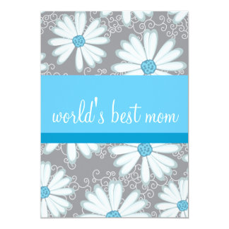 "Sassy and Sweet Mother's Day Brunch Invitation 5"" X 7"" Invitation Card"