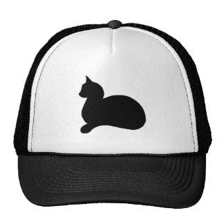 Sassy Black Cat Mesh Hats