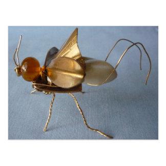 Sassy Brassy Bug Postcard