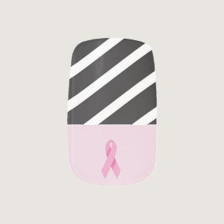 Sassy Breast Cancer Awareness Nail Set Minx® Nail Art