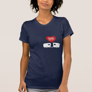 Sassy Camper - Funny Wanna Hook Up RV Tshirt