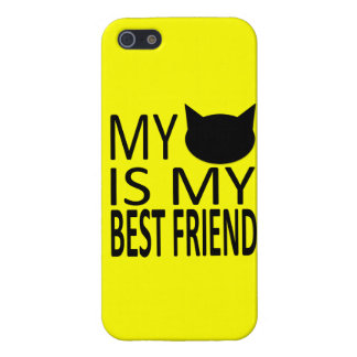 Sassy Cat My Best Friend Iphone Case