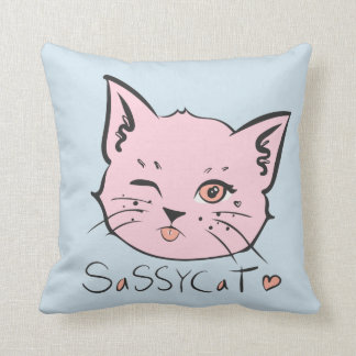 Sassy Cat Pillow