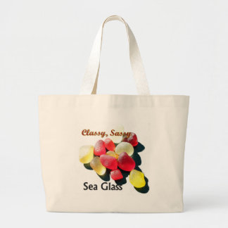 Sassy Classy Sea Glass - Red and yellow Bags