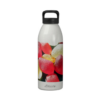 Sassy Classy Sea Glass - Red and yellow Drinking Bottle