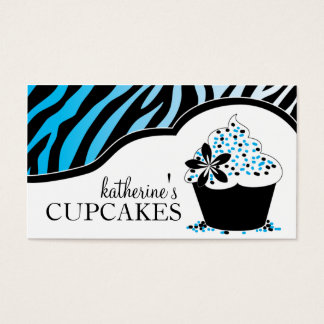 Sassy Cupcake Business Cards