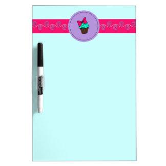 Sassy Cupcake Dry Erase Board