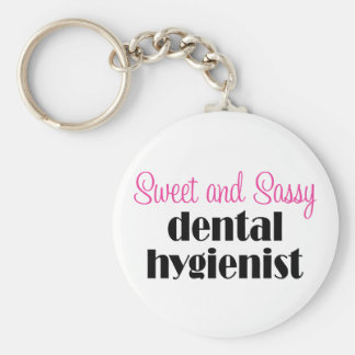 Sassy Dental Hygienist Keychain