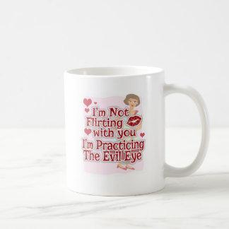 Sassy Evil Eye 50s Housewife Coffee Mug
