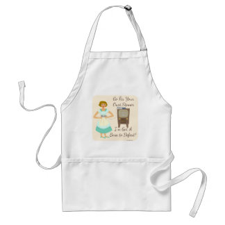 Sassy Fifties Gamer Housewife Adult Apron