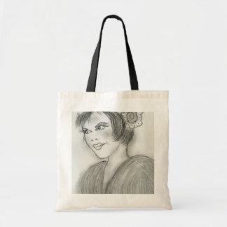 Sassy Flapper Tote Bag
