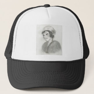 Sassy Flapper Trucker Hat
