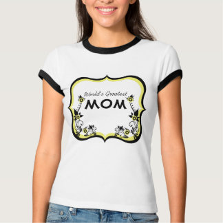 Sassy Floral World's Greatest Mom Tee