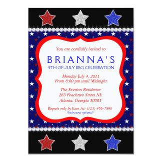 Sassy Fourth of July Invite